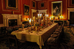 Magnificent-dining-room-table-setup-in-Attingham-Park