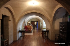 A-corridor-inside-castle-drogo