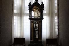 Clock-inside-Castle-Drogo