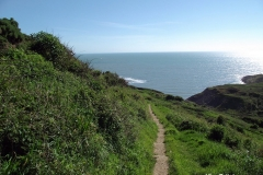 Walking-down-to-Chapmans-Pool-Dorset-England