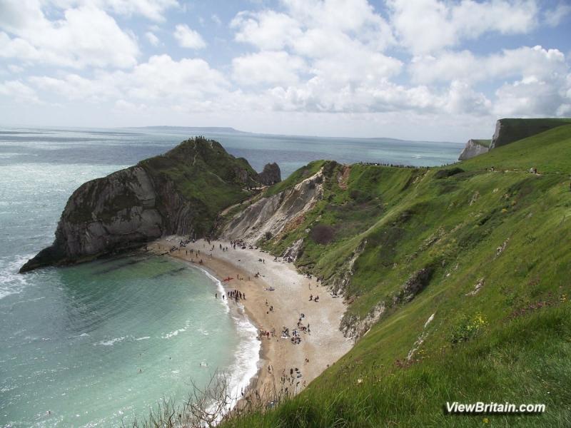 View-of-Durdle-Door-from-East-Dorset-England