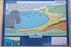 information-board-at-durdle-door