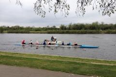 Rowing-boats-at-River-Thames-Kingston-Surrey-UK