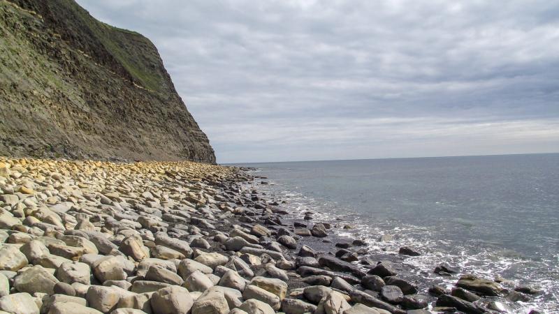 Kimmeridge_bay-beach-on-a-sunny-day