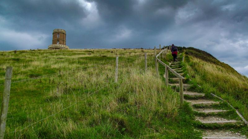 Kimmeridge_bay-clavel-tower