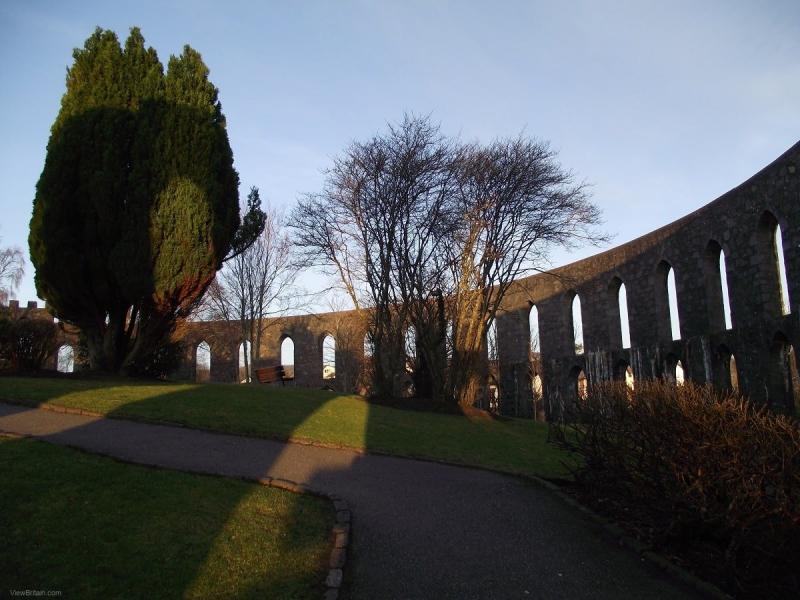 McCaig-Tower-at-Sunset-Oban-Scotland