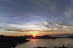 Sunset-from-Oban-over-Oban-Bay-Scotland