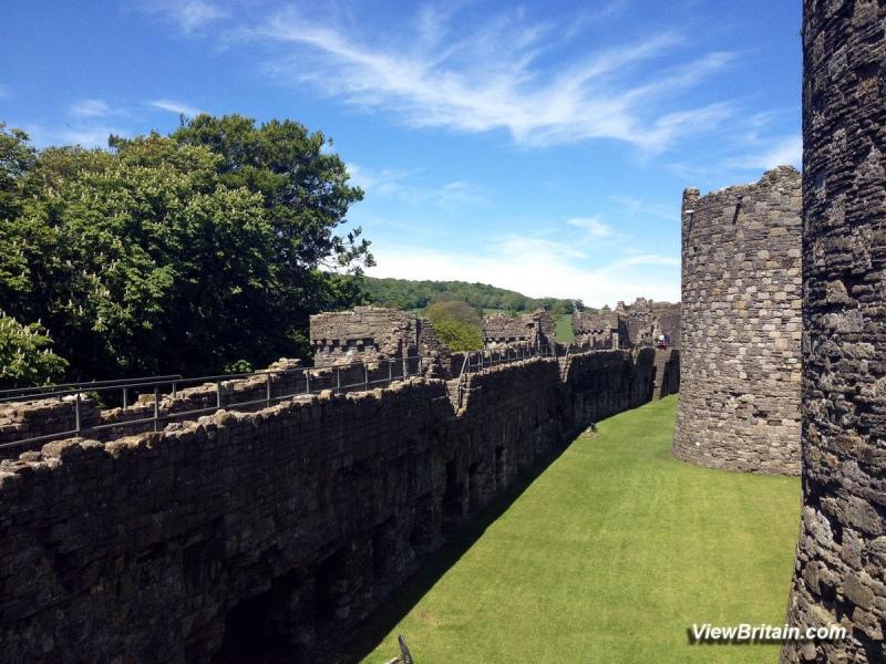 Beaumaris-Castle-Concentric-Defence