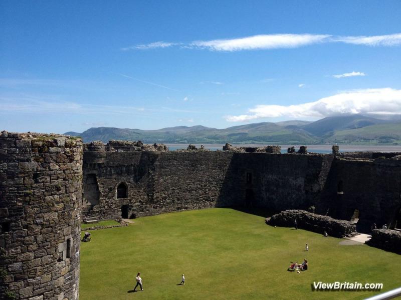 Beaumaris-Castle-Inside-View