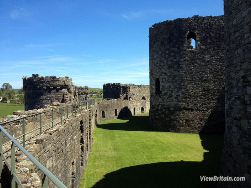 Beaumaris-Castle-Outer-Ward