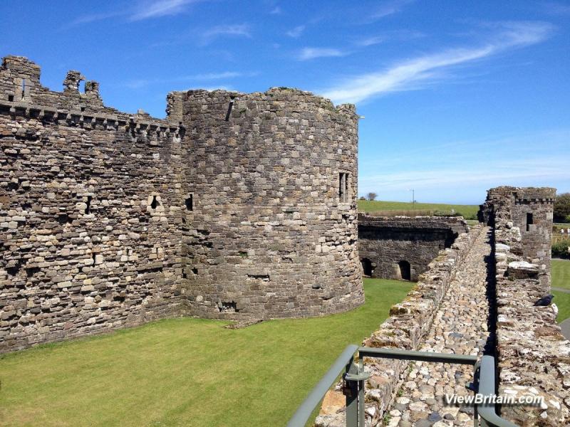 Beaumaris-castle-Inner-Ward-Tower
