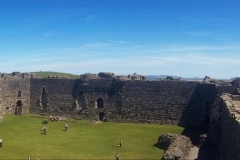 Beaumaris-Castle-Inside-Panorama