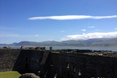 Beaumaris-Castle-Overlooking-Snowdonia-National-Park