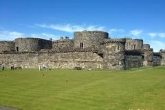 Beaumaris-Castle-on-a-sunny-day