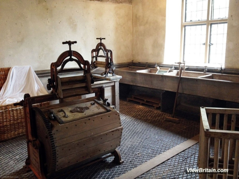 Laundry-Room-in-Chirk-Castle-Wales