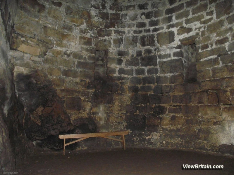 Medieval-Dungeon-at-Chirk-Castle-27-feet-underground-Wales