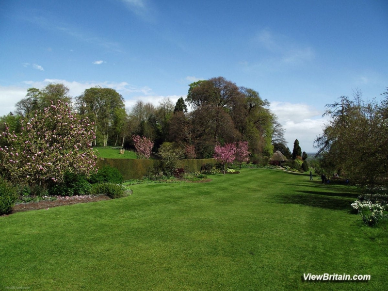 View-of-Formal-Gardens-Chirk-Castle-Wales