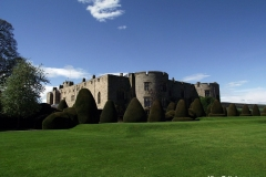 View-of-Chirk-Castle-Surrounding-Yew-Trees-Wales