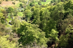 View-of-the-car-park-from-Pistyll-Rhaeadr-Waterfall