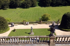 Powis-Castle-Garden-Statues