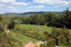Powis-Castle-overlooking-gardens
