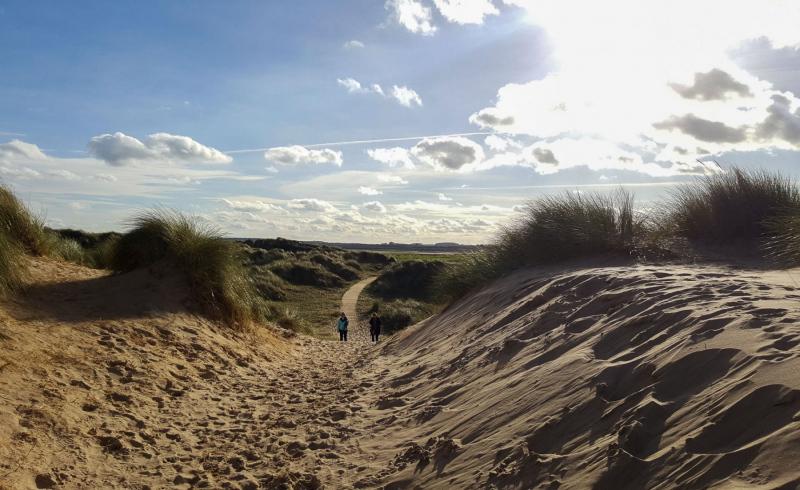 Holkham-bay-coastal-walk-wells-next-the-sea
