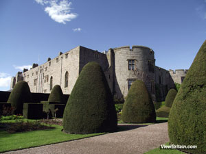 Chirk Castle, longest lived in Medieval Castle in Wales