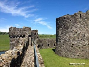 Beaumaris Castle details – Medieval Castle Layout, Design & Defence