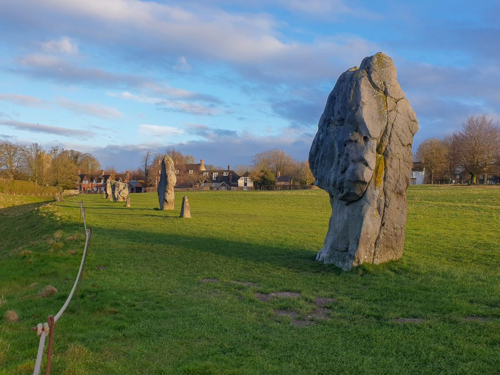 Another-View-of-Northern-Outer-Stone-Circle-Facing-Village-Avebury