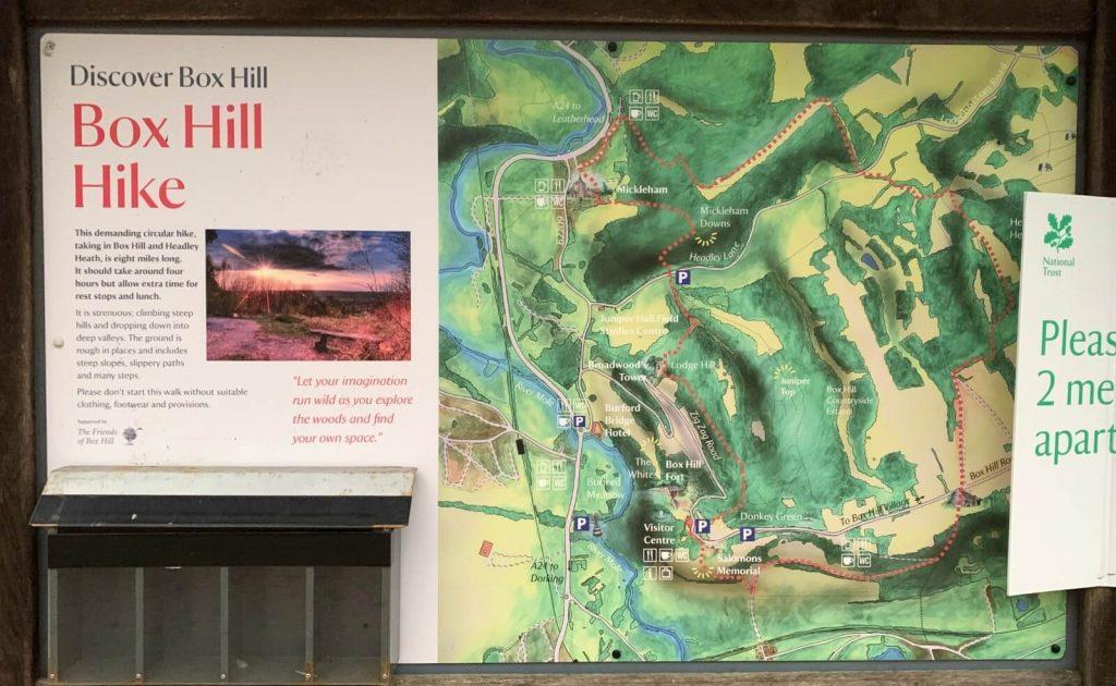Box-hill-hike-walk-map