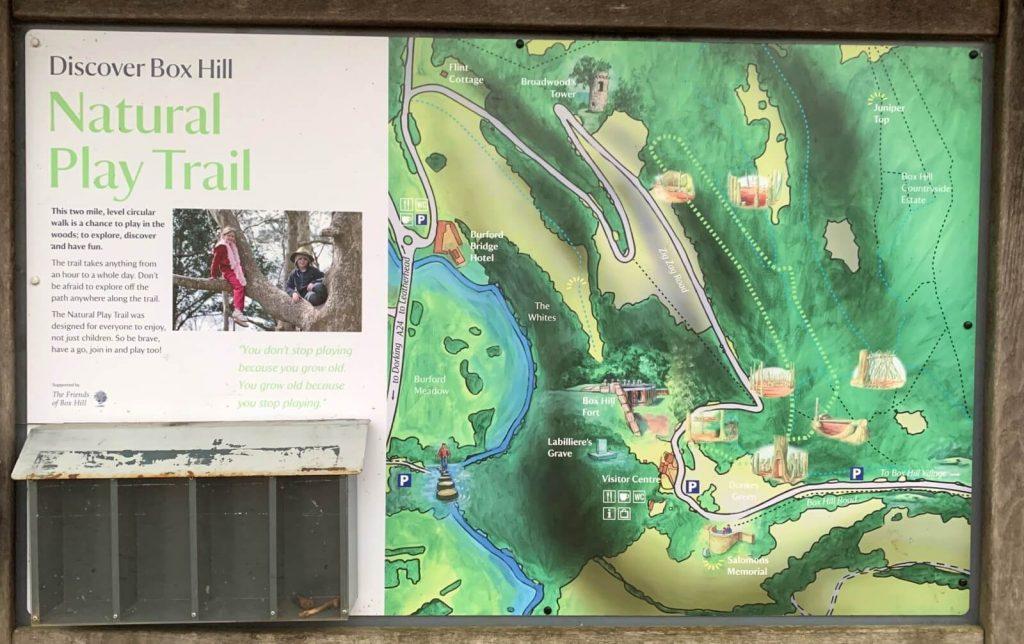 Box-hill-natural-play-trail-walk-map