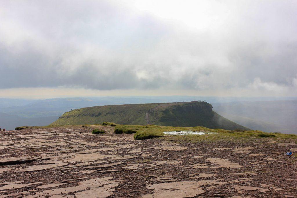 relatively-flat-summit-at-pen-y-fan-mountain-peak