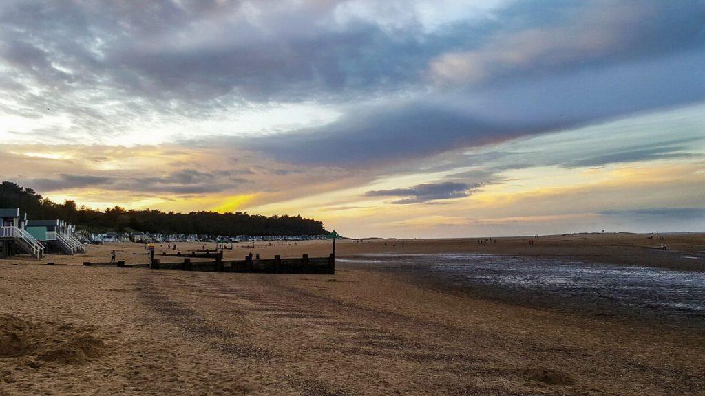 wells-next-the-sea-beach-at-sunset